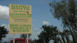 Eco Fuels Kenya - Factory Sign